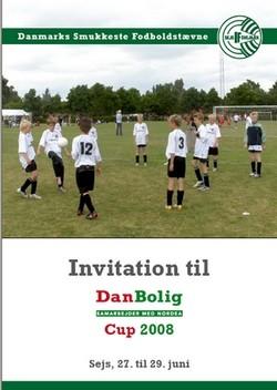 Logo Danmarks Smukkeste Fodboldstævne - DanBolig Cup 20
