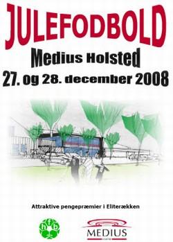 Logo Julefodbold i Holsted