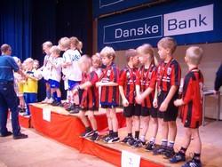 Logo Danske Bank CUP, HURUP THY