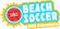 Logo Beach Soccer 2019 på Amager Strand