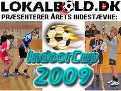 Logo IndoorCup 2009 (store/små mål)