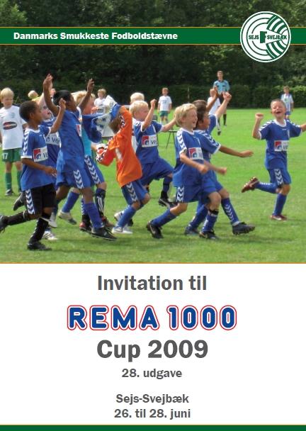 Logo Danmarks Smukkeste Fodboldstævne - REMA 1000 Cup 2